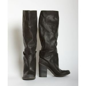 Marsell Double High Tall Chunky Heel Boots 9 / 39